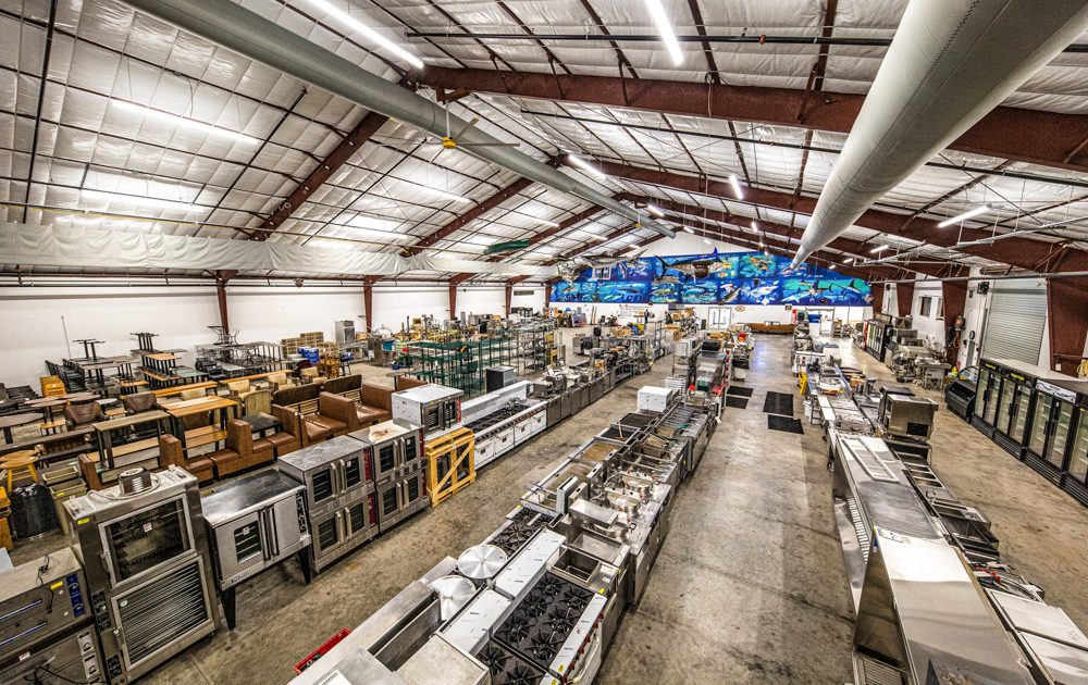 Warehouse Structure Design & Build